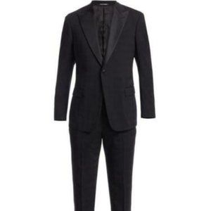 Mens Emporio Armani Virgin Wool/Silk M-Line Tuxedo